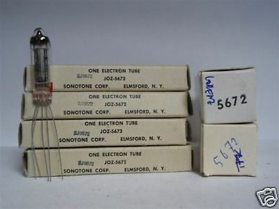 5672 Tube. Mixed Brands. Long Pin. Nos / Nib. Rc179