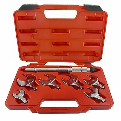 Interchangeable Torque Wrench Spanner Heads With Torque Control 17  29mm