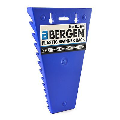 Spanner Rack Wrench Holder Storage Rack Rail Tray For 12 Spanners By Bergen