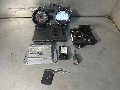 Renault Megane sport 225 2.0 16v ecu key lock set kit 8200357162 / 8200313057