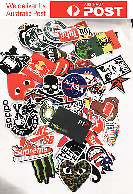 100pcs Cool Stickers, Decal Vinyl Skateboard Guitar Travel Case, stickers pack