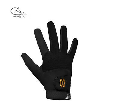 MacWet AquaTec MicroMesh Short Cuff Gloves Golf Equestrian Fishing Shooting