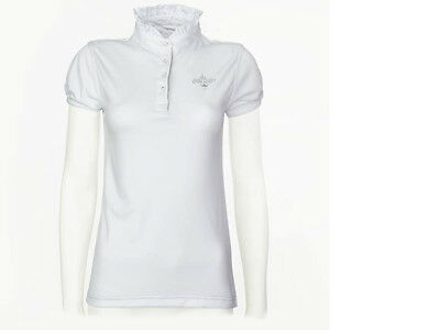 Ladies Short Sleeve Shirt Horse Riding Show Showing Dressage Eventing Jumping
