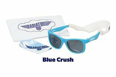 Babiators Gift Set - Blue Crush Navigator Sunglasses Age 0-3 and Accessories