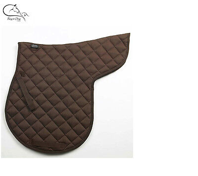 Numnah Full Quilted Dressage GP Jumping Working Hunter Horse Cob Pony FREE P&P