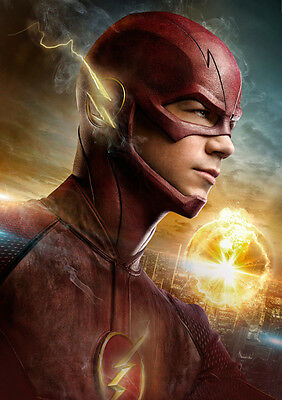 The Flash Poster Print Borderless Stunning Vibrant Sizes A1 A2 A3 A4