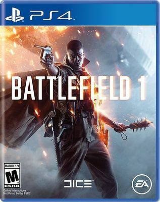 Battlefield 1 (Sony PlayStation 4, PS4) - COMPLETE