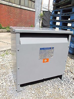 Square D Insulated Transformer 30 Kva, 480V, 3 Phase  Cat# 30T6H ... OD-462