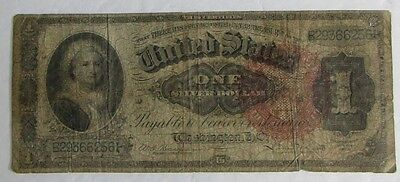 1886 Brown Seal Silver Certificate One Dollar Large Note (C839)