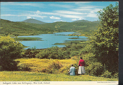 Ireland Postcard - Inchigeela Lakes Near Ballingeary, West Cork   B2220