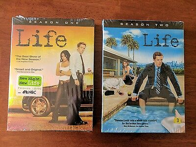 Life: Complete Series Season 1 & 2 (DVD, 2 Box Sets) *NEW SEALED* Free Shipping