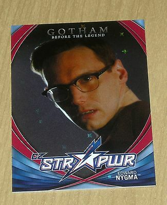 2017 Cryptozoic Gotham season 2 character bio STR PWR RED Edward Nygma CB15