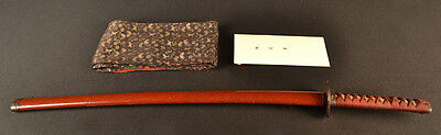 Antique Japanese Samurai Katana Sword Signed Echizen Nobusada Certificate Papers