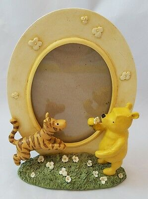Michel & Company Disney Classic Winnie the Pooh Bear Tigger Oval Picture Frame