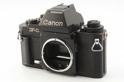 Canon New F-1 35mm SLR Film Camera Body AE Finder from JAPAN #1632