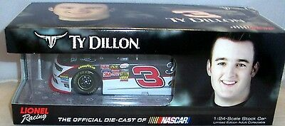 Ty Dillon #3 Yeungling Lite 2015 1/24 Scale NASCAR Diecast