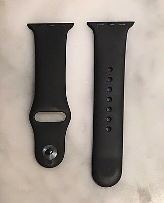 Original OEM Apple Watch 38mm Black Sports Band Small / Medium