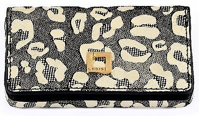 Nwt Lodis Valley Boulevard Leather Mini Business Credit Card Case Gold New $35