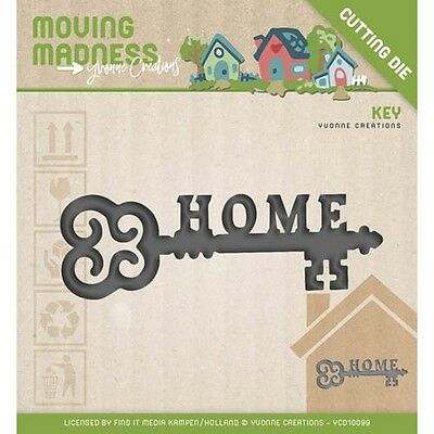 Stanzschablone Yvonne Creations Moving Madness Home Sweet Home