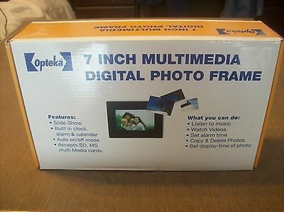 New Opteka 7 inch Multimedia Digital Photo Frame