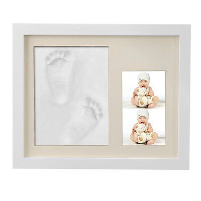 Nacy Baby Handprint and Footprint Frame Package Mold Kit Baby Gift Keepsakes