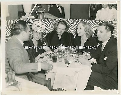 Marlene Dietrich George Raft El Morocco Vintage Photo By Chic Farmer
