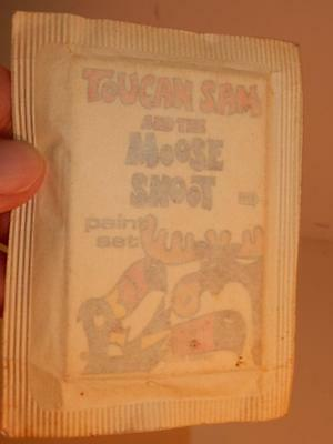 Kellogg's Cereal Premium Vintage Toucan Sam And The Moose Snoot Paint Set Sealed