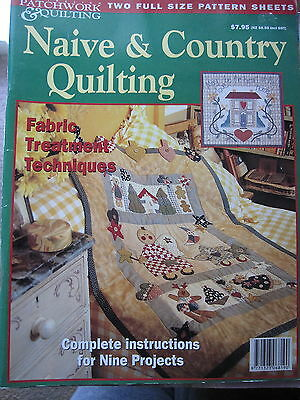 NAIVE & COUNTRY QUILTING by Patchwork & Quilting ....1996