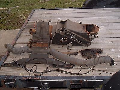 1967 1968 Mustang Cougar A/C Air Conditioning Box Blower Diffuser Hoses OE 67 68