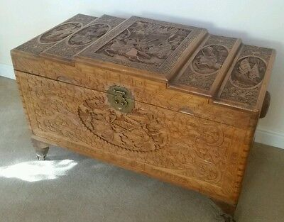 Camfor Wood Chest - Waterlooville