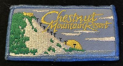 CHESTNUT MOUNTAIN Vintage Skiing Ski Patch Galena ILLINOIS IL Souvenir Travel