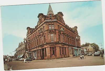 Postcard of The Highland Hotel, Nairn. 1960s