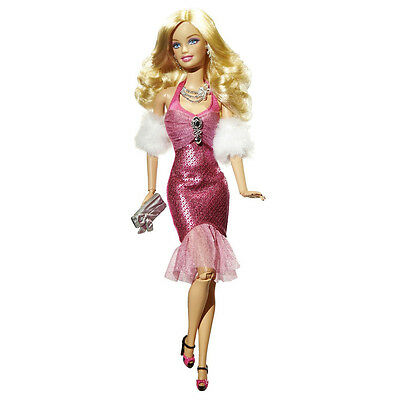 2009 BARBIE FASHIONISTAS Wave 1 GLAM DOLL #R9878  ~*Fully Poseable!*~ NEW