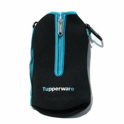 Tupperware Active Carrier for 1 litre Eco Water Bottle Black Blue New
