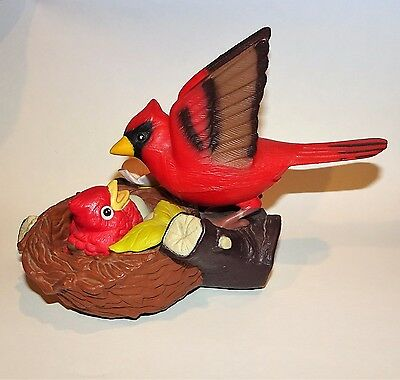 Takara Breezy Singers Love Nest Northern Cardinal Touch & Motion Activated