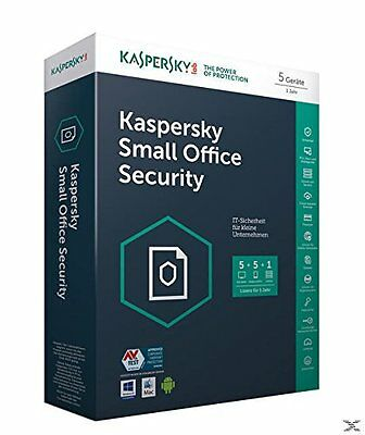 Kaspersky Small Office Security | 5 User / Pc | 5 Mobilgeräte | 1 Server