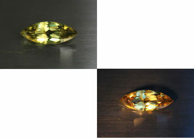 3.73 Cts_Gemstone Collection_100% Natural Unheated Color Change Diaspore _Turkey