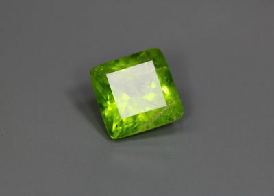 5.65 Cts_Gemstone Collection_Top Cushion Cut_100 % Natural Pakistan Peridot
