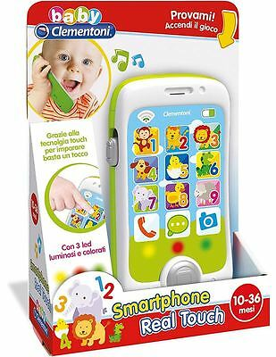 Smartphone Touch & Play Parlante Baby Clementoni 14969 (Italiano)