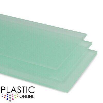 Green Matt Frost Colour Perspex Acrylic Sheet Plastic Material Panel Cut to Size