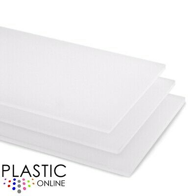 Opal Matt Frost Colour Perspex Acrylic Sheet Plastic Material Panel Cut to Size