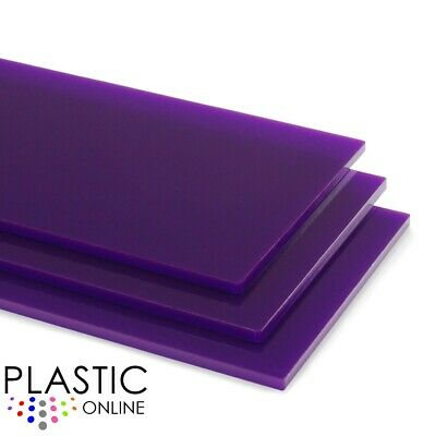 Purple Perspex Acrylic Sheet Colour Plastic Panel Material Cut to Size