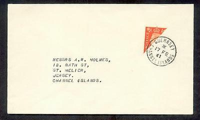 Channel islands Guernsey IH Letter (F8370