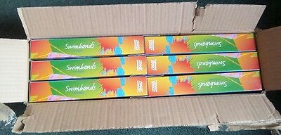 Wholesale, Joblot, Carboot, Market, Zoggs 'Pink Shark' Swimbands Stage 2, 1-6yrs