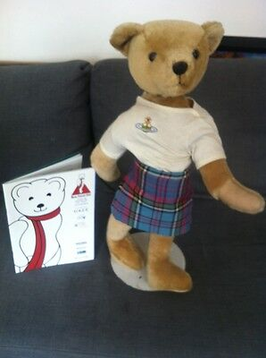 "Unique Vivienne Westwood Merrythought ""Catwalk"" Bear from Sotheby's Auction 2000"
