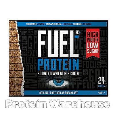 Fuel10k Fuel Protein Boosted Wheatabi Biscuits Vitamins Energy Breakfast Cereal
