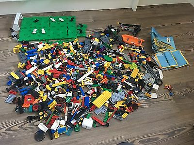 3kg of Lego,Multiple Sets Mixed,Wheels, Blocks,Figures,boards,Job Lot,bundle
