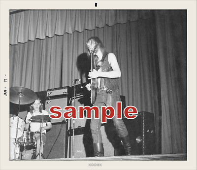 Allman Brothers Rare Early 1970 High School Show 3 Snapshot Set  Duane Great
