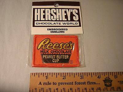 Vintage New Old Stock Hershey's Cocolate World Reese's Peanut Butter Cup Patch