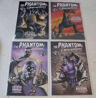 Phantom Generations #3 4 5 6 Moonstone Comics